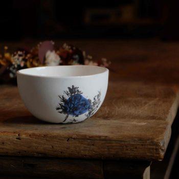 bol porcelaine romantique